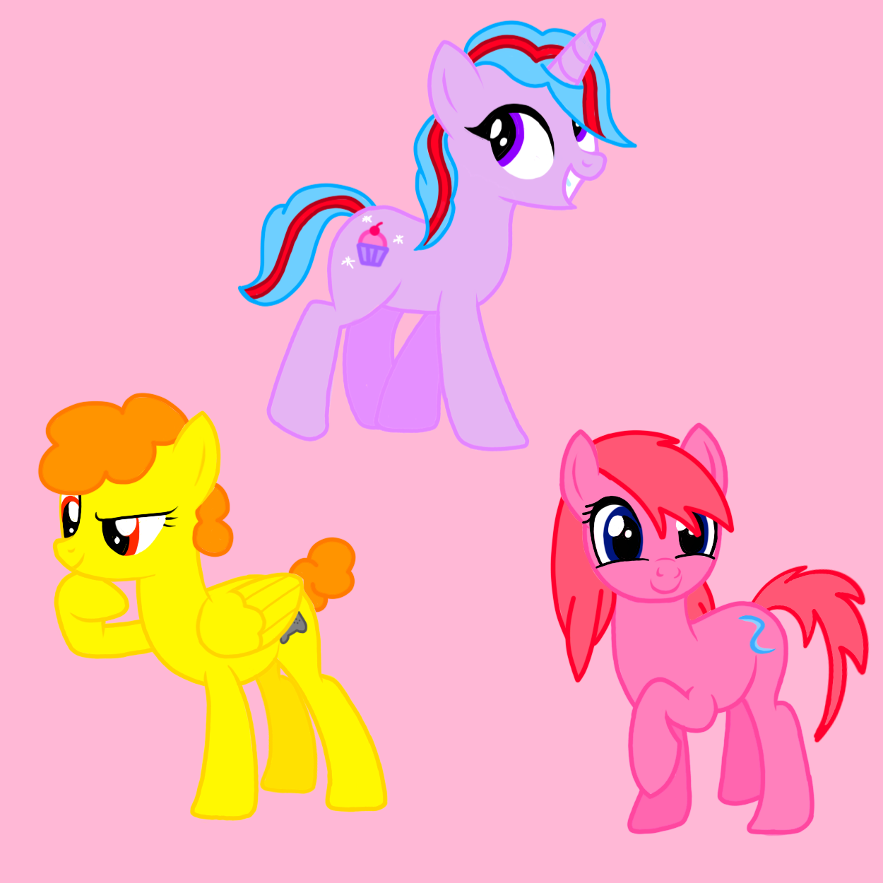 Paper Ponies Digitalized